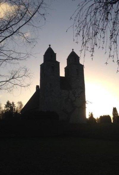 Kirken om aftenen