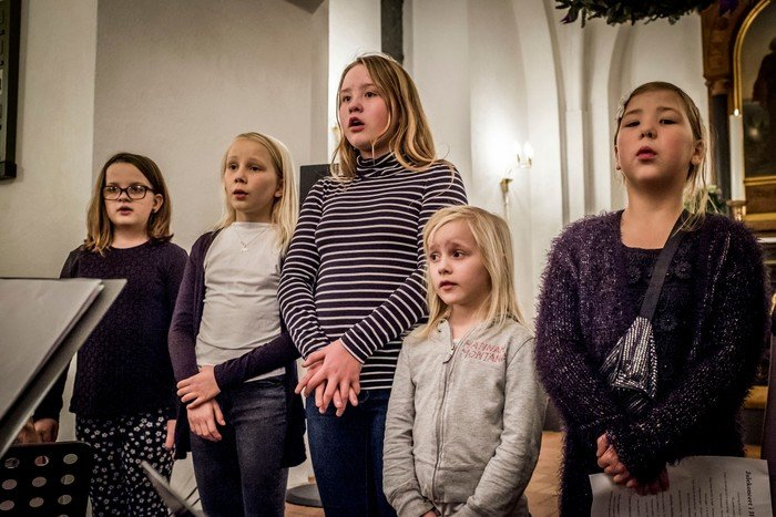 Fra tidligere koncerter med Børnekor.