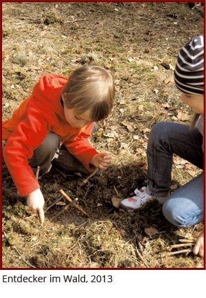 Kinder im Wald - in der Waldwoche