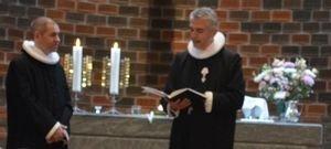 Indsættelse af Peter Sander som præst i Brøndby Strand