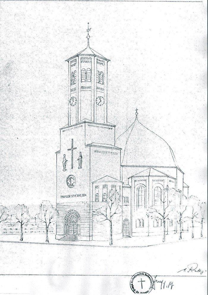 Entwurf für den Wiederaufbau
