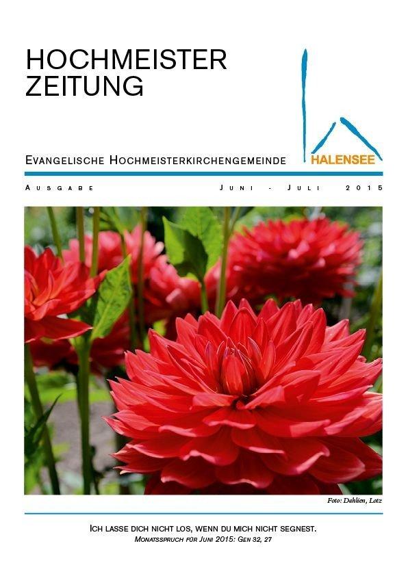 Hochmeister Zeitung 06 2015