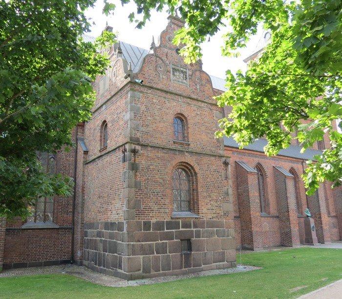 renæssancekapel på nordsiden – Valkendorfs kapel fra 1633 Odense Domkirke
