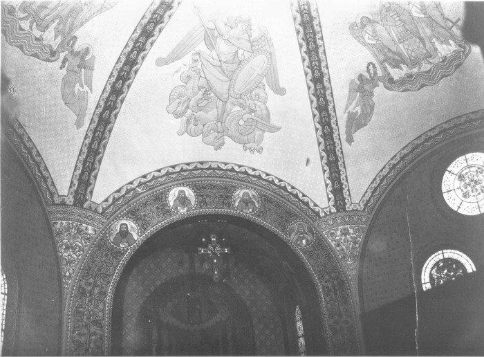 Gewölbebemalung in der Hochmeisterkirche