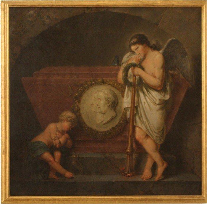 C.B. Rode: Epitaph Voigt und Zieglern