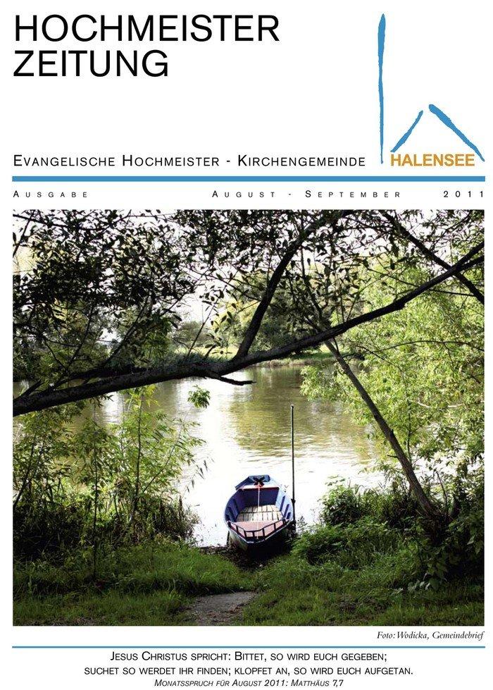 Hochmeisterzeitung 08 2011