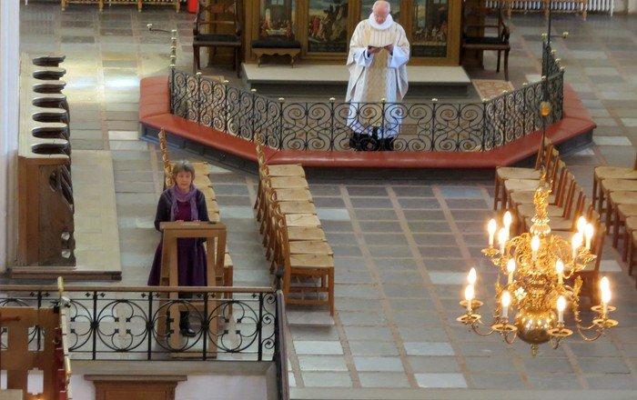 Gudstjeneste i Domkirken