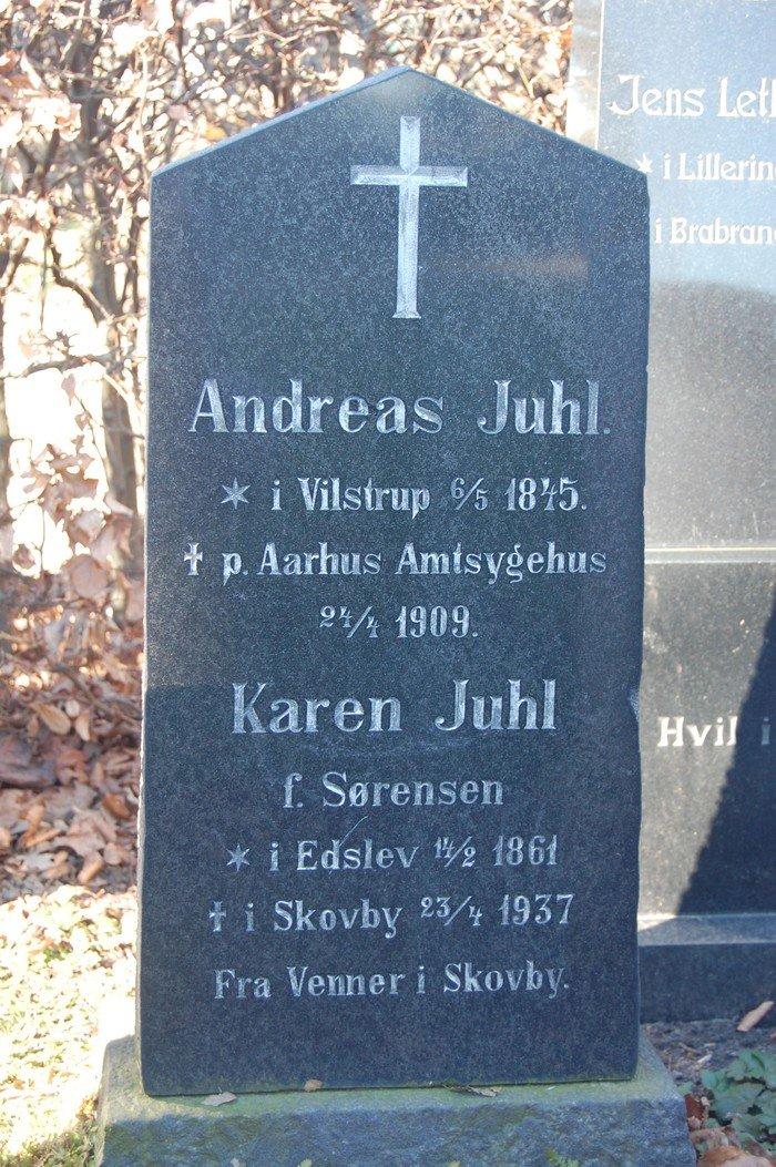 Andreas Juhl og Karen Juhl