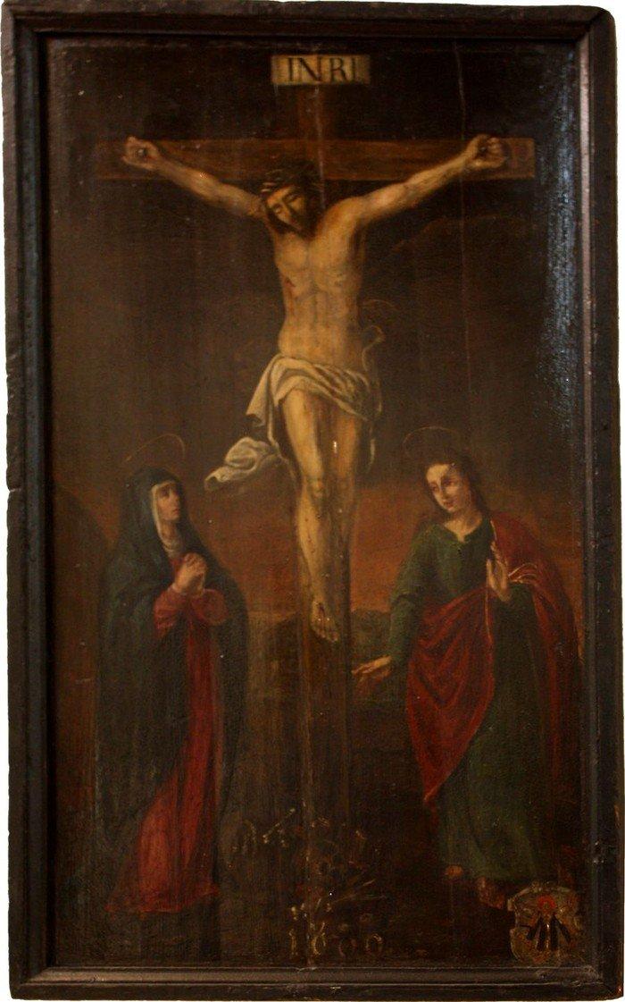 Kreuzigungsbild, um 1600, Hochmeisterkirche
