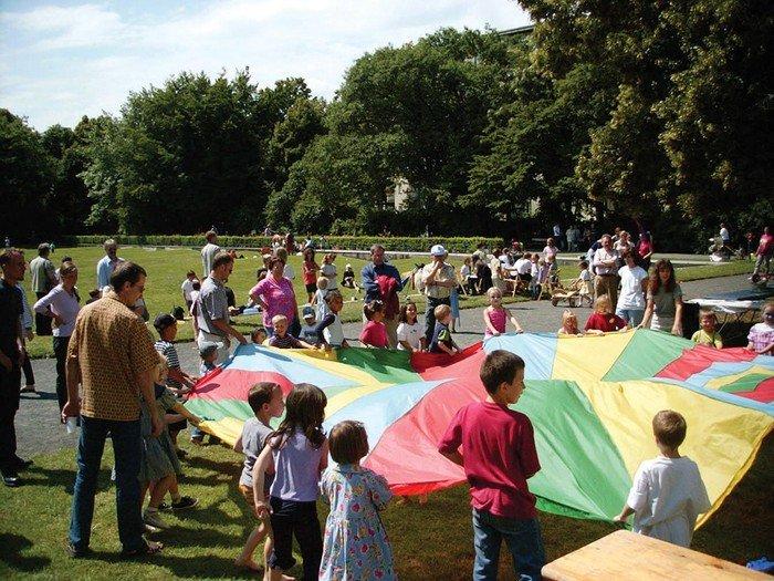 Kindersommerfest auf dem Hochmeisterplatz
