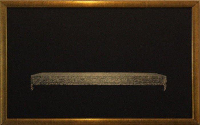 Manfred Sillner: »Das Tischtuch vom Heiligen Abendmahl des Leonardo da Vinci«