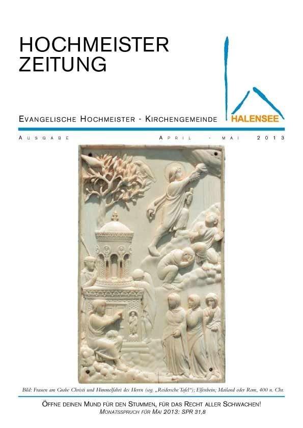 Hochmeisterzeitung 04 2013