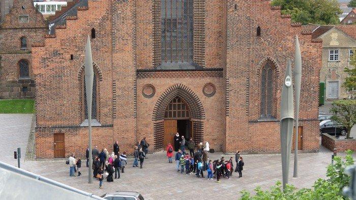 Indgang til Odense Domkirke