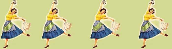 Illustration af dansende kvinde