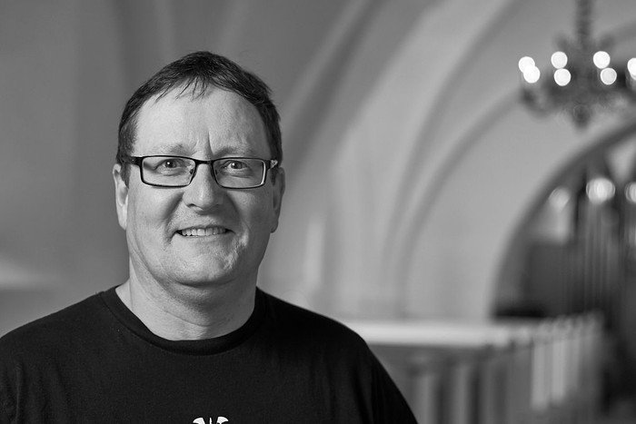 Niels Lottrup, repræsenterer KFUM-spejderne