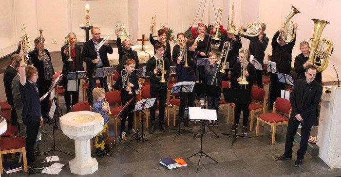 Posaunenchor im Konzertchen