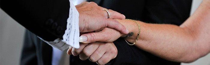 Vielse og bryllup i Lindevang Kirke