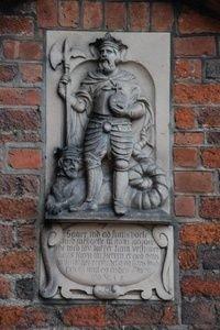 Helsingør Domkirke - Skt. Olai - har navn efter sin værnehelgen, den norske kong Olav den Hellige