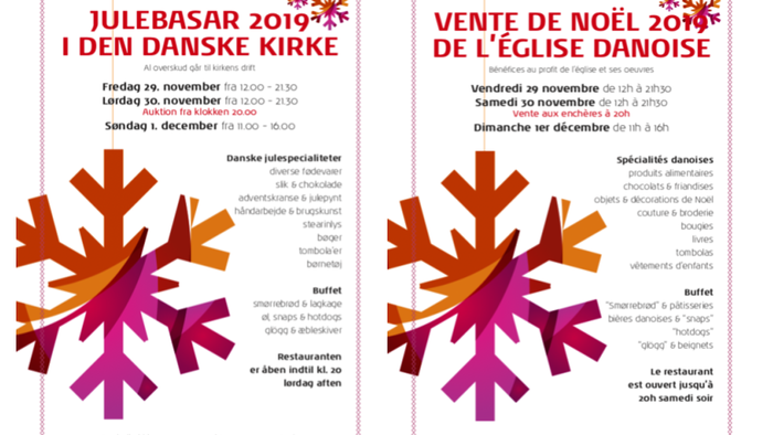 Invitation julebasar 2019