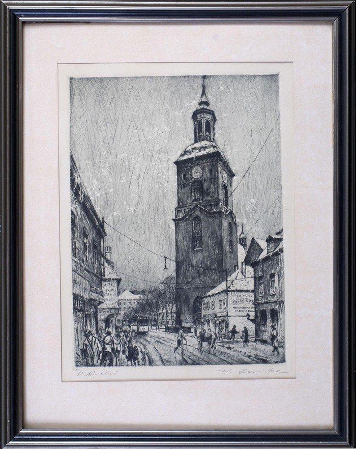 St. Nicolai, um 1930?_Willi Gericke