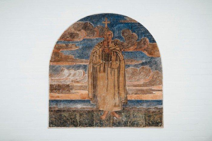 Freskomalerierne af Anna E. Munch