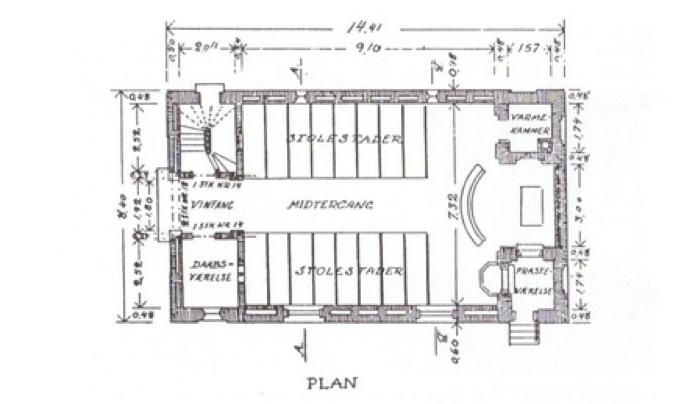 Tegning af grundplan