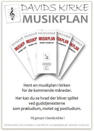 Hent den aktuelle musikplan som pdf-fil