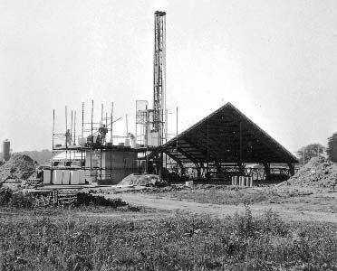 Kirkens opførelse august 1966