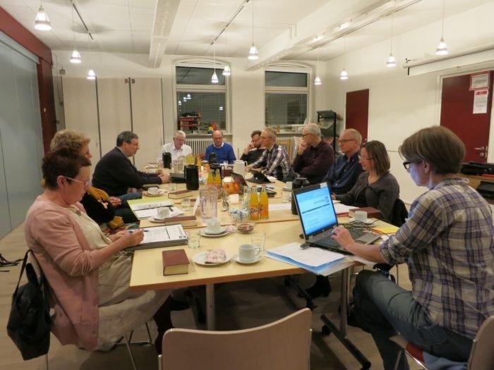 Menighedsrådet holder møde