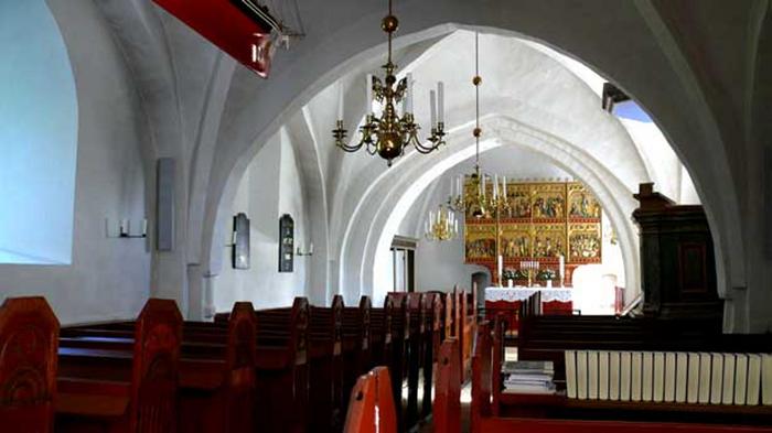 HvælvingerTibirke kirke
