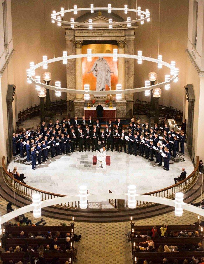 Københavns Drengekor og Vor Frue Kantori i Vor Frue Kirke