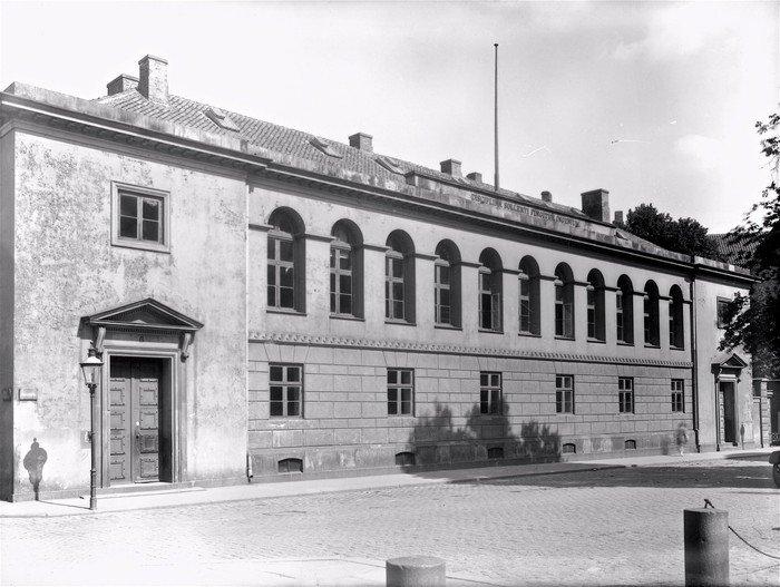 Metropolitanskolen 1925. Foto: Peter Elfelt. www.kbhbilleder.dk