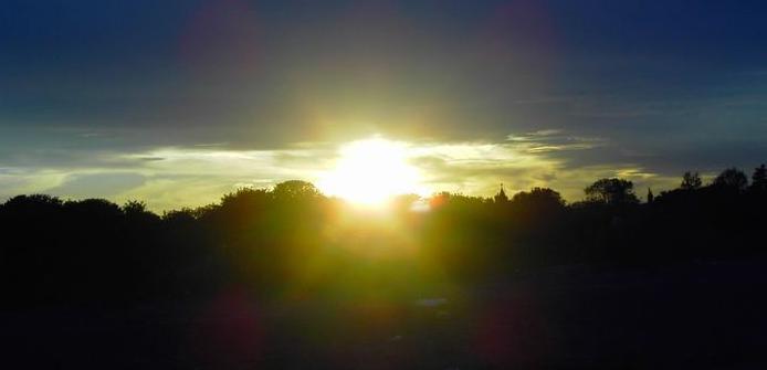 Aften sol