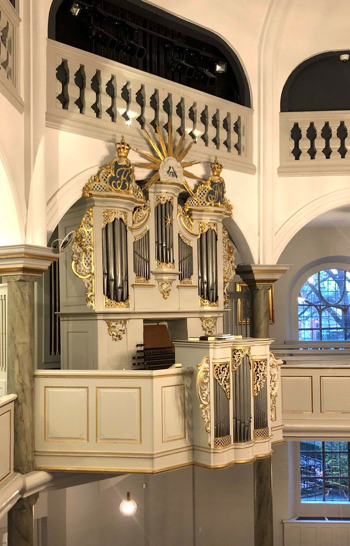 Frederiksberg Kirkes orgel