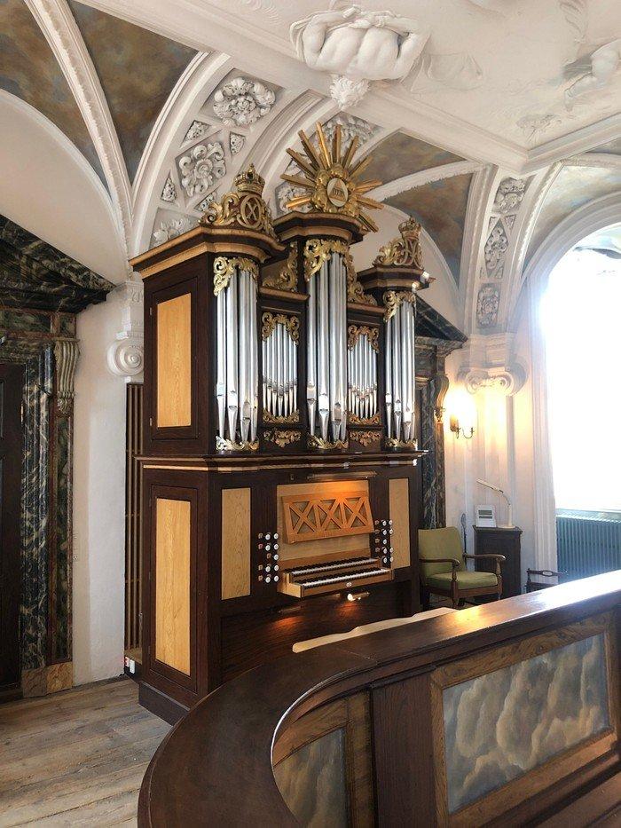 Frederiksberg Slotskirkes orgel