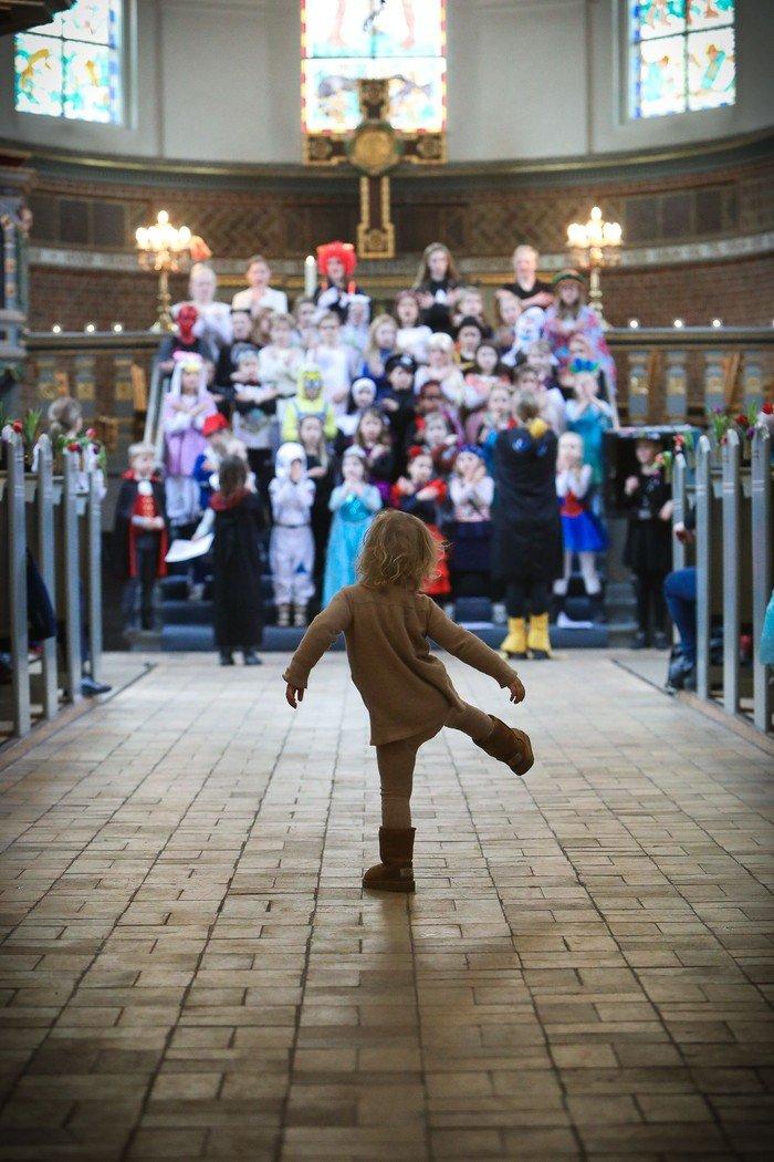 Lutherkirkens Spirekor - børn der synger