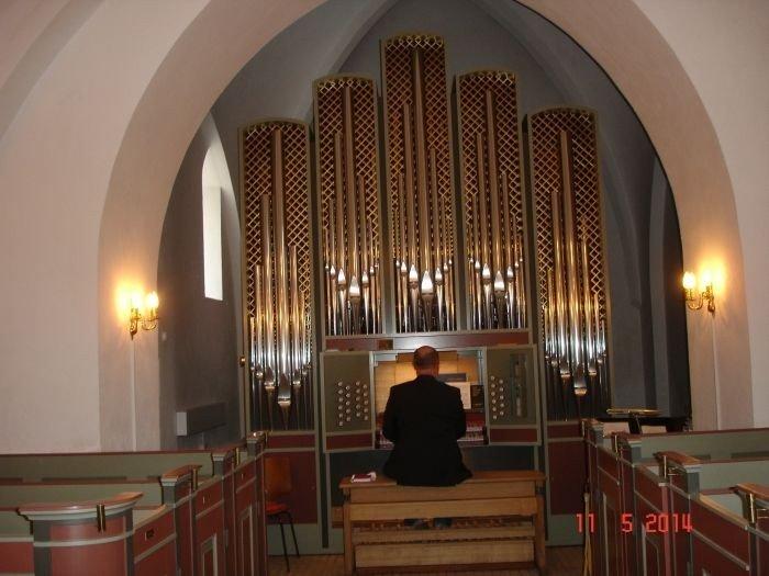 Bjæverskov kirkes nye orgel