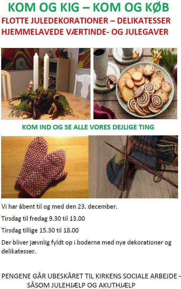 Brøndby Strand Kirkes julestue afholdes normalt hvert år lørdagen