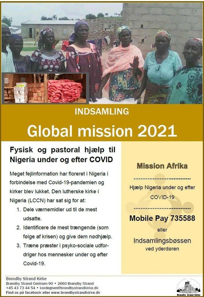 Plakat: global mission 2021