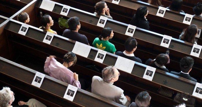 Saloner og foredrag i Christians Kirke