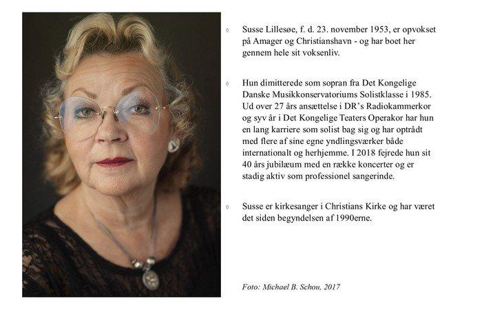 Pressefoto Susse Lillesøe og faktaboks