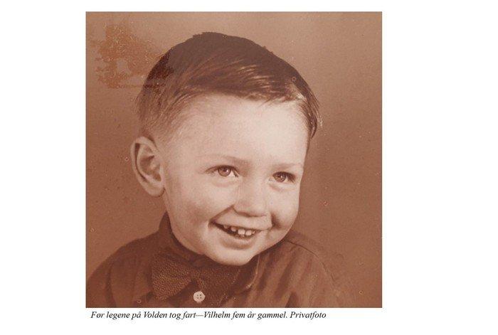Privatfoto Vilhelm Georg Jensen som barn