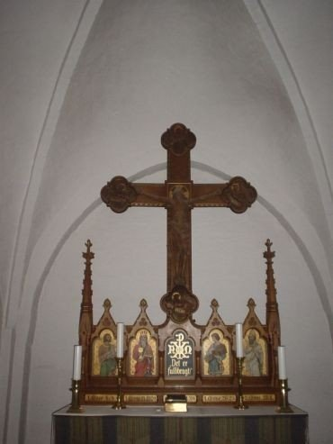 Altertavle i Rise Kirke