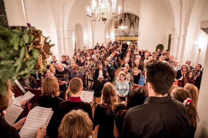 Billede fra en koncert