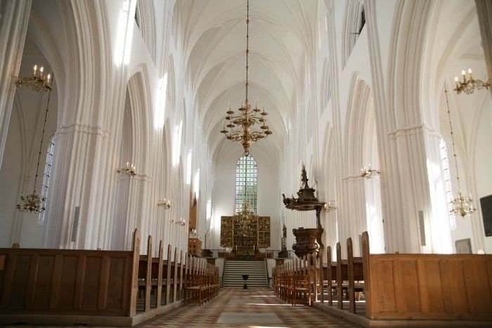 Inside of Odense Cathedral