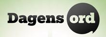 Dagens ord logo