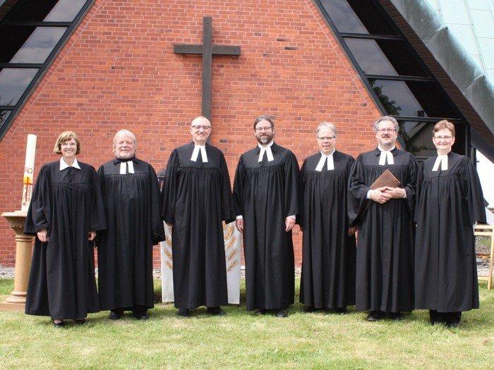 Das PastorInnenteam