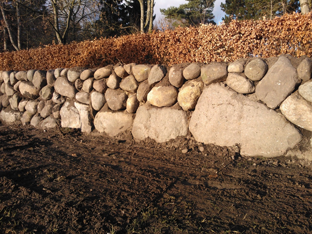 Renovering af stendiget
