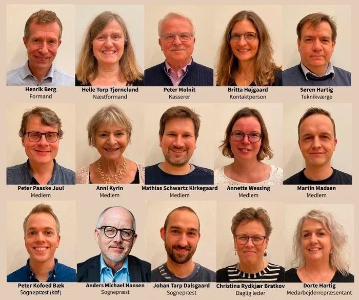 billedecollage af menighedsrådet 2020