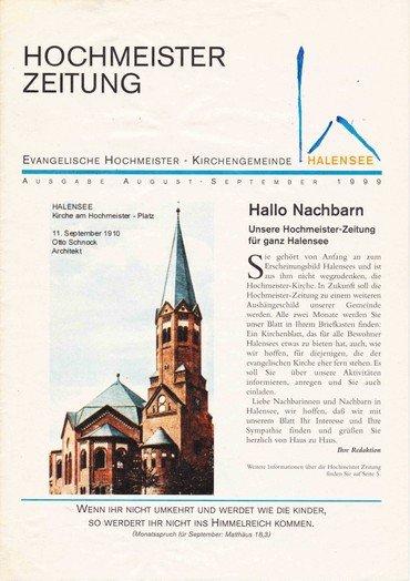 Hochmeisterzeitung 08 1999